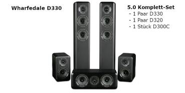 Wharfedale D330 5.0 / 5.1 System
