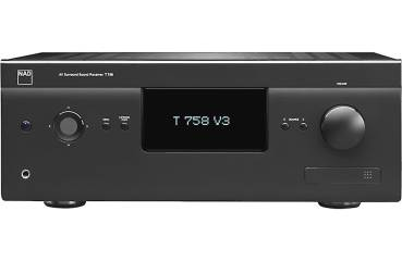 NAD T758 V3 / 7.1.4 Surround Receiver / 7 Endstufen